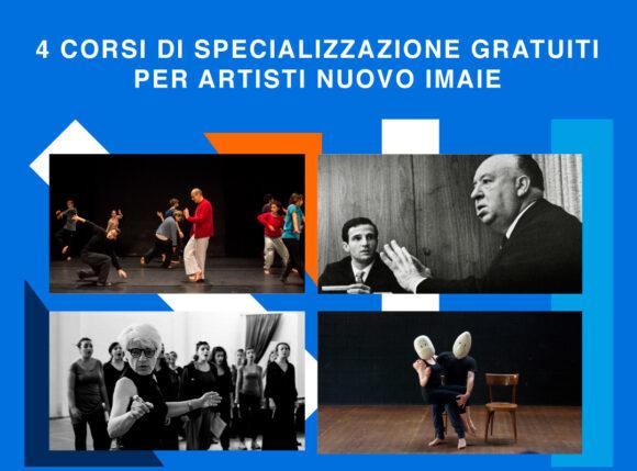 4 corsi di specializzazione gratuiti per artisti NUOVO IMAIE